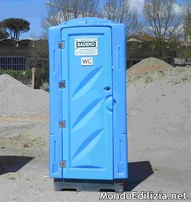 WC da cantiere in lamiera e coibentati - Prefabbricati e Box su Annunci Edilizia .it - Vendita ...