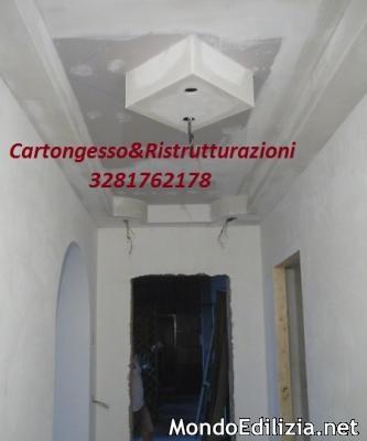 Controparetti in cartongesso controsoffitti in cartongesso for Cerco camera da letto in regalo milano